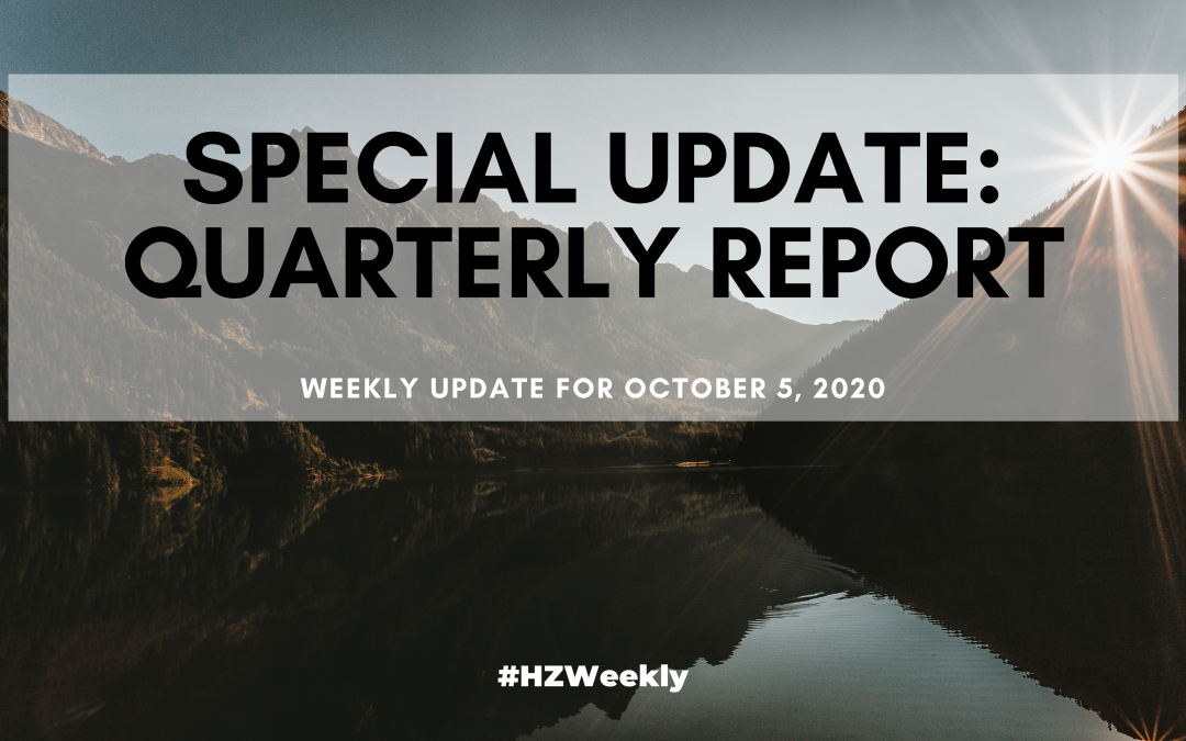 Special Update: Quarterly Report – Weekly Update for October 5, 2020