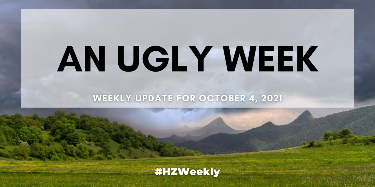 An Ugly Week – Weekly Update for October 4, 2021