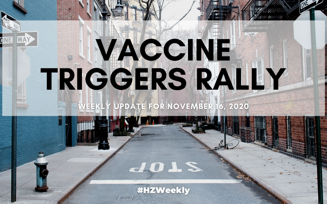 Vaccine Triggers Rally – Weekly Update for November 16, 2020