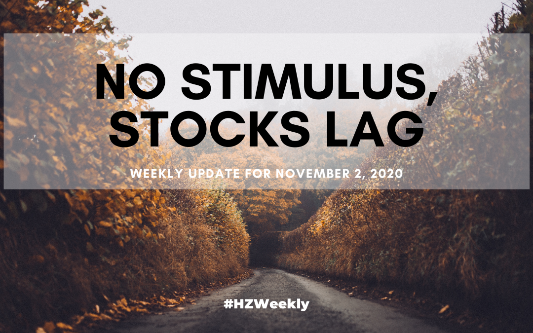 No Stimulus, Stocks Lag – Weekly Update for November 2, 2020