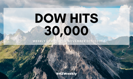 Dow Hits 30,000 – Weekly Update for November 30, 2020