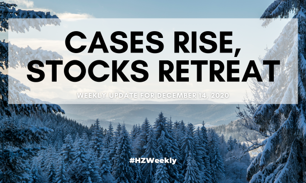 Cases Rise, Stocks Retreat – Weekly Update for December 14, 2020