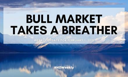 Bull Market Takes a Breather – Weekly Update for February 1, 2021