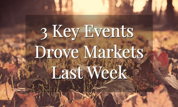 How Did Big Headlines Influence the Market? – Weekly Update for October 31, 2016