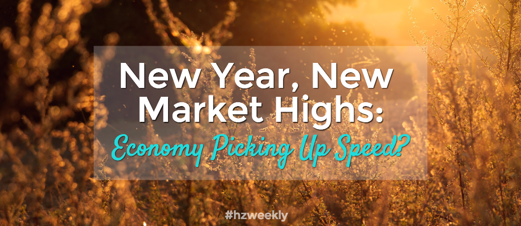 New Year, New Market Highs – Weekly Update for January 9, 2017