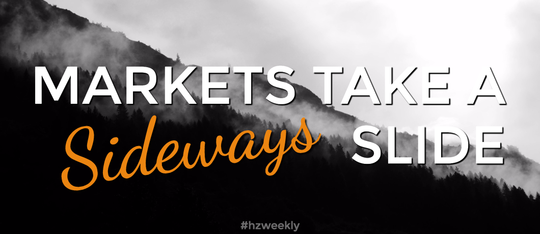 Markets Slide Sideways – Weekly Update for June 26, 2017