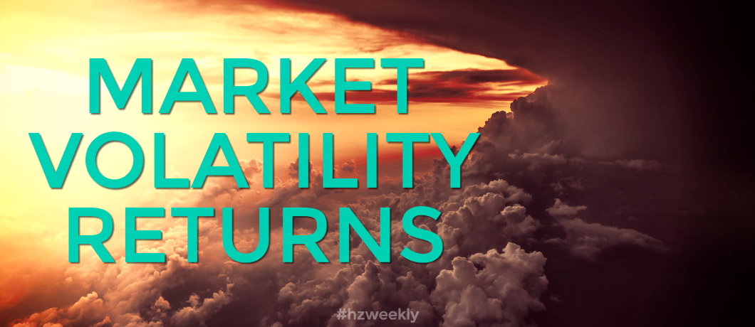Market Volatility Returns – Weekly Update for July 3, 2017