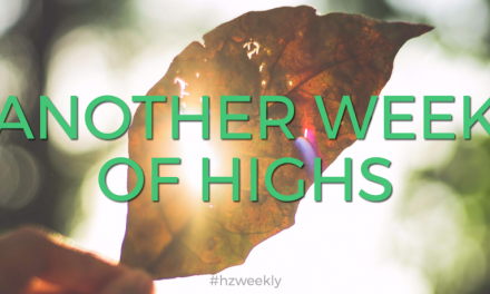Another Week of Highs – Weekly Update for October 2, 2017
