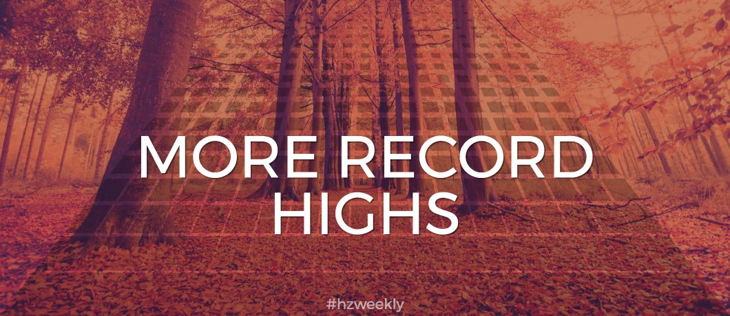 More Record Highs – Weekly Update for October 16, 2017