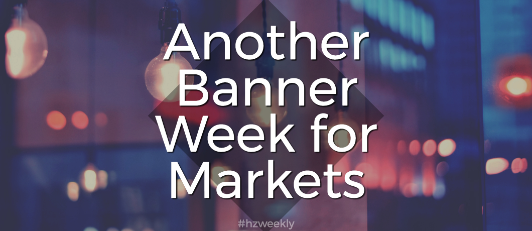 Another Banner Week for Markets – Weekly Update for October 23, 2017
