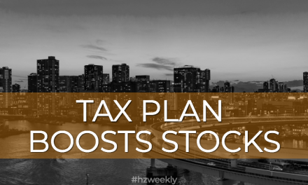 Tax Plan Boosts Stocks – Weekly Update for December 18, 2017