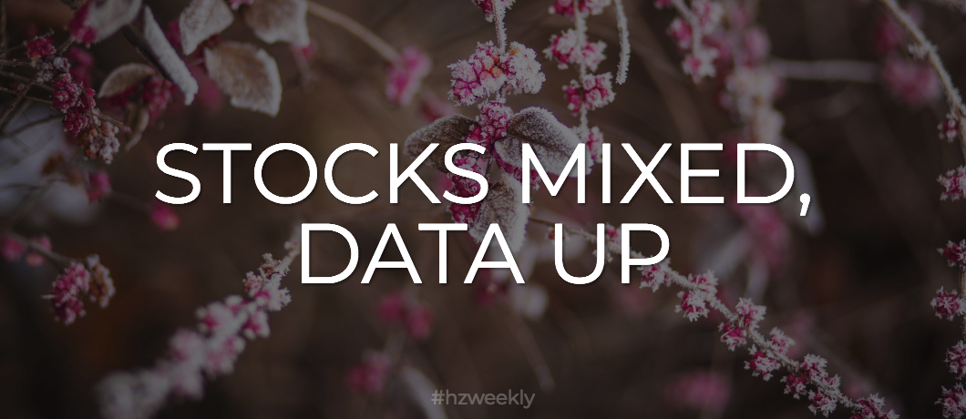 Stocks Mixed, Data Up – Weekly Update for November 20, 2017