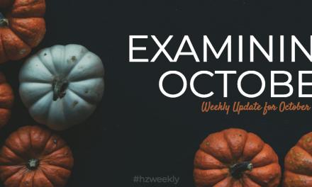 Examining October – Weekly Update for October 22, 2018