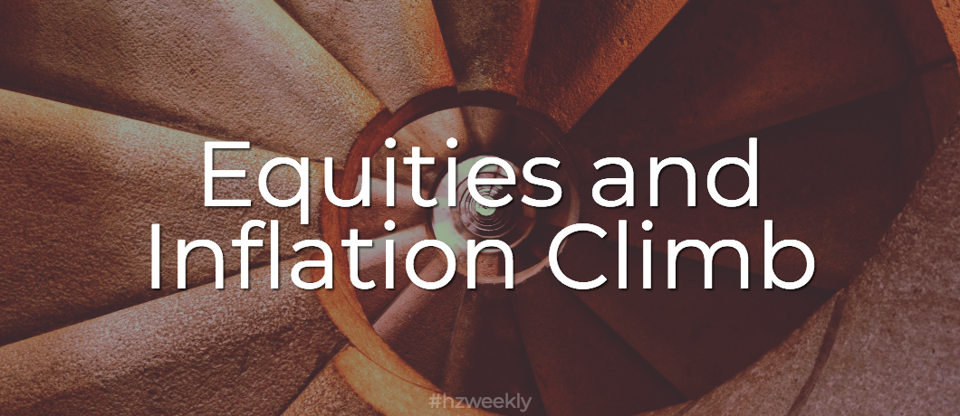 Equities and Inflation Climb – Weekly Update for January 16, 2018