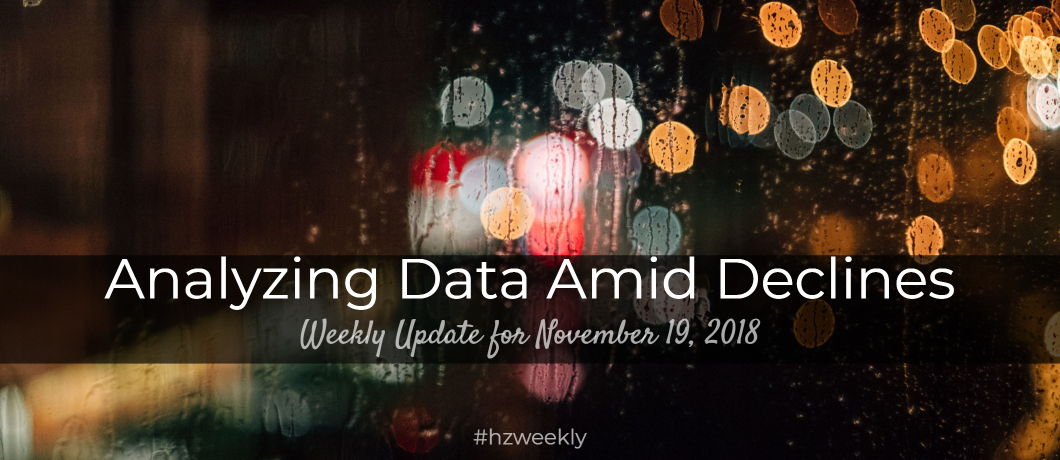 Analyzing Data Amid Declines – Weekly Update for November 19, 2018
