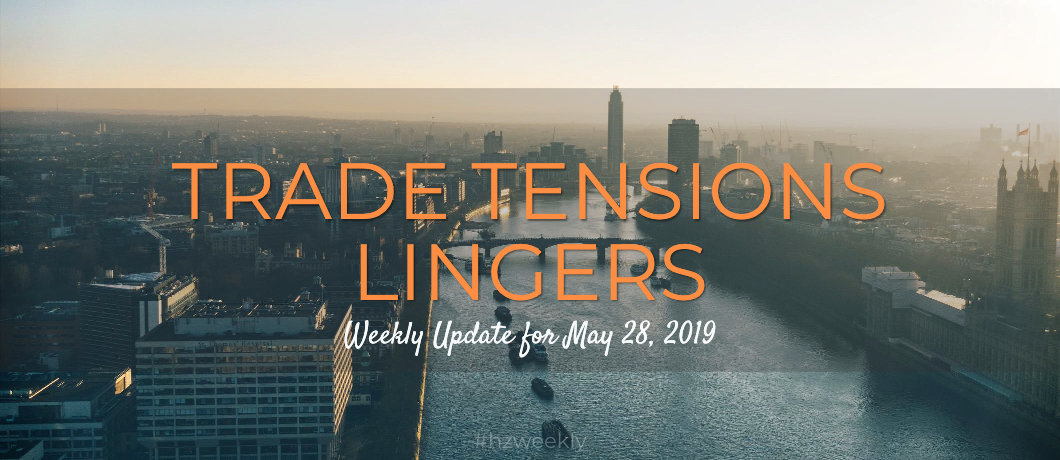 Weekly Update For May 28, 2019