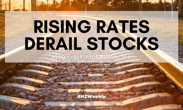 Rising Rates Derail Stocks – Weekly Update for March 1, 2021