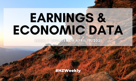 Earnings & Economic Data – Weekly Update for April 19, 2021