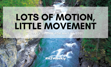 Lots of Motion, Little Movement – Weekly Update for May 24, 2021