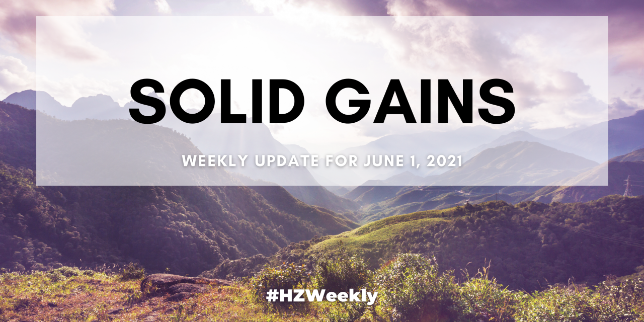 Solid Gains – Weekly Update for June 1, 2021