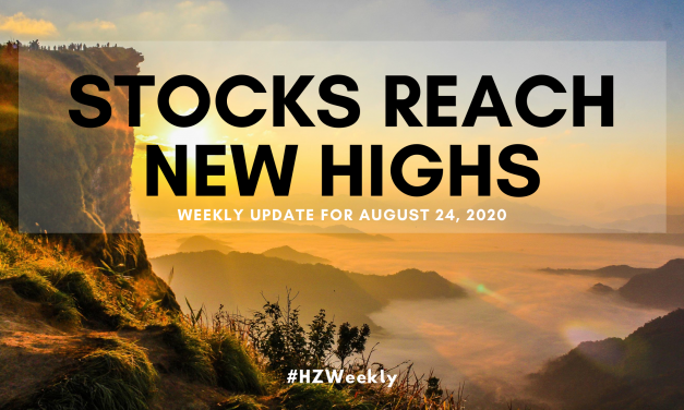 Stocks Reach New Highs – Weekly Update for August 24, 2020