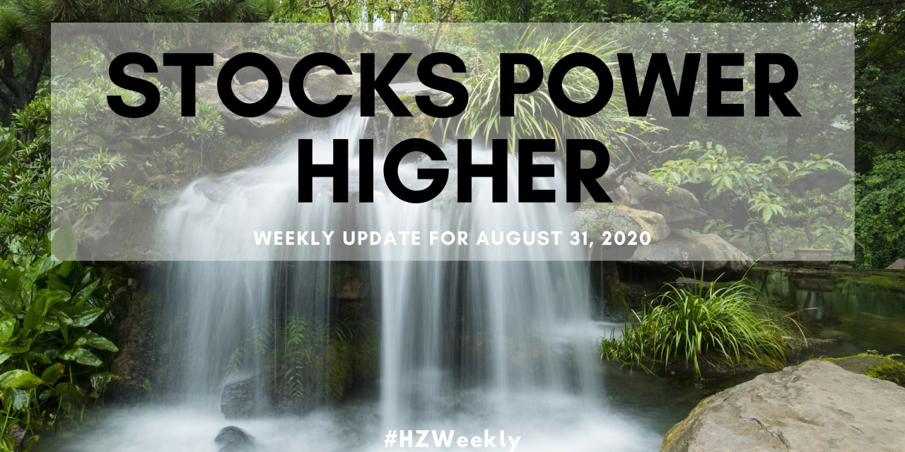 Stocks Power Higher – Weekly Update for August 31, 2020