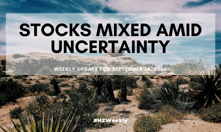 Stocks Mixed Amid Uncertainty – Weekly Update for September 28, 2020