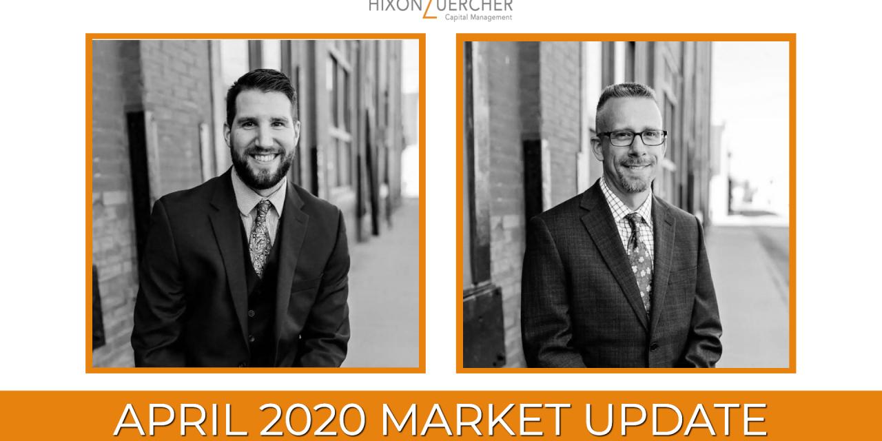 April 2020 Market Update Video
