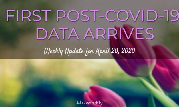 First Post-COVID-19 Data Arrives