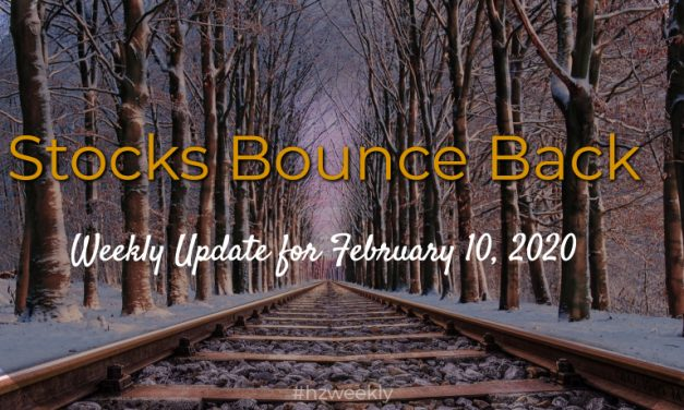 Stocks Bounce Back – Weekly Update for February 10, 2020