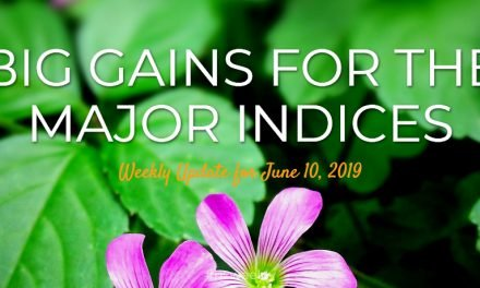 Big Gains for the Major Indices – Weekly Update for June 10, 2019