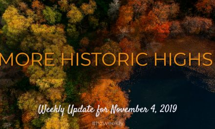 More Historic Highs – Weekly Update for November 4, 2019