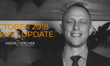 October 2018 Market Update Video