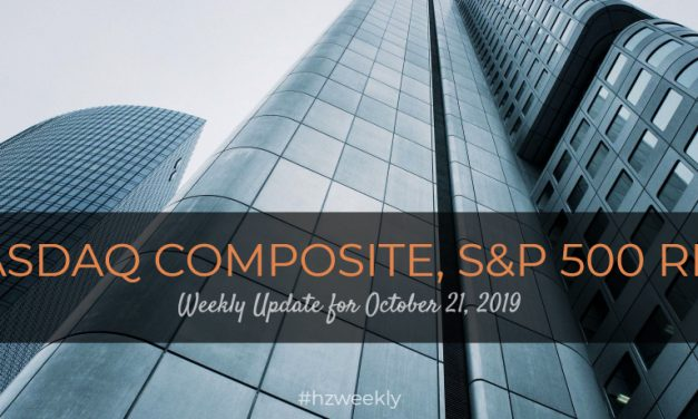 Nasdaq Composite, S&P 500 Rise – Weekly Update for October 21, 2019