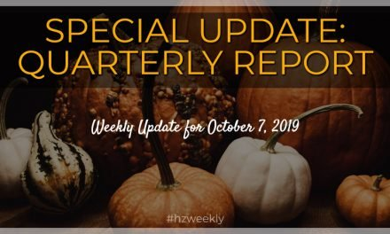 Special Update: Quarterly Report – Weekly Update for October 7, 2019