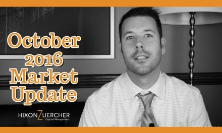 October 2016 Market Update Video