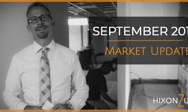 September 2018 Market Update Video