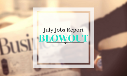 Stocks Bounce After Jobs Blowout – Weekly Update for August 8, 2016