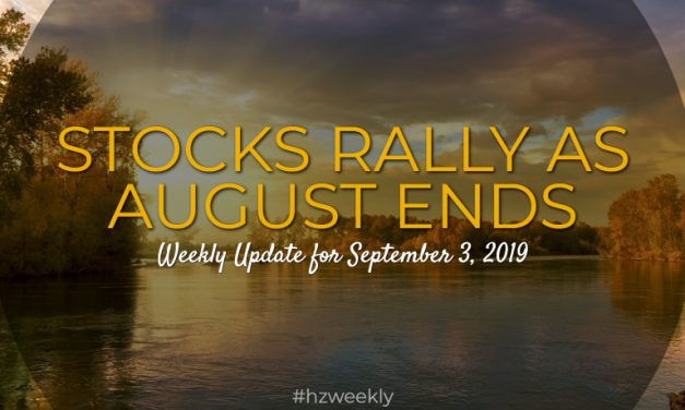 Stocks Rally as August Ends – Weekly Update for September 3, 2019