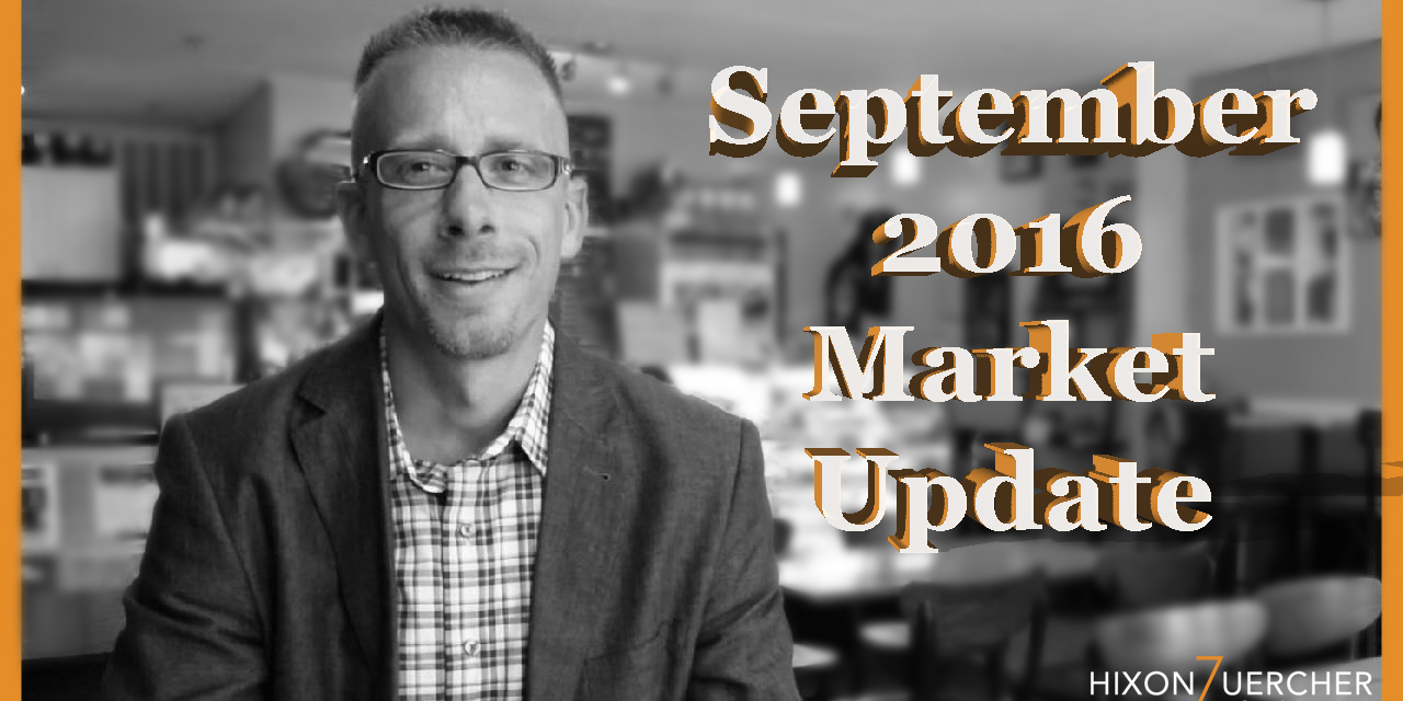 Special September 2016 Market Update Video