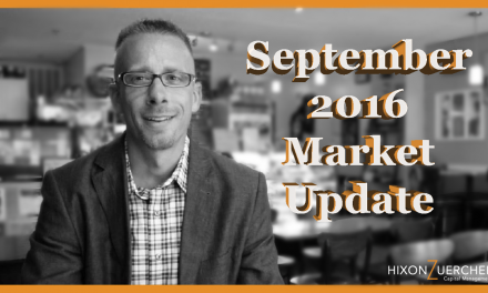Special September 2016 Market Update Video