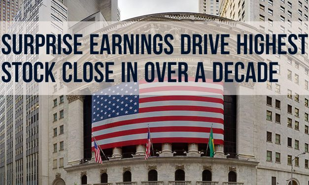 Earnings Drive Record High Close – Weekly Update for August 15, 2016