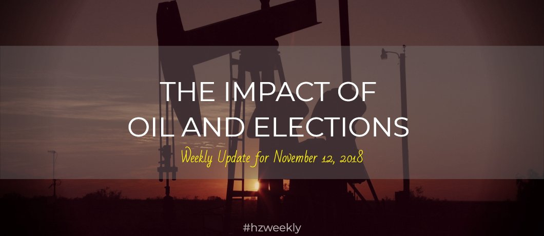 The Impact of Oil and Elections – Weekly Update for November 12, 2018