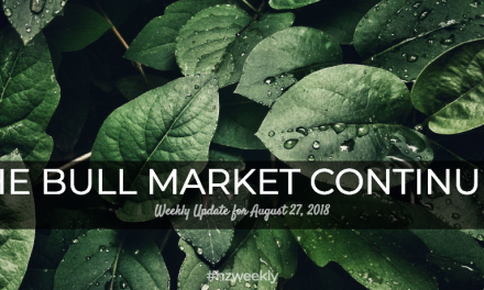 The Bull Market Continues – Weekly Update for August 27, 2018