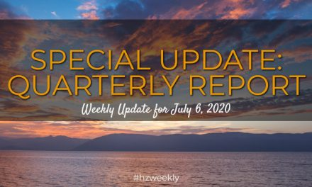 Special Update: Quarterly Report – Weekly Update for July 6, 2020
