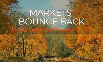 Markets Bounce Back – Weekly Update for  November 5, 2018