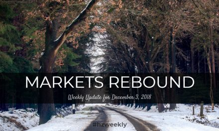 Markets Rebound – Weekly Update for December 3, 2018